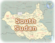 Map South Sudan