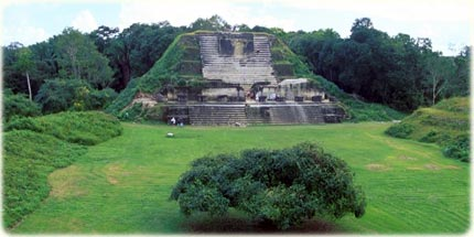 Altun Ha, in Belize