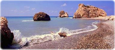 Aphrodite's birthplace, Cyprus