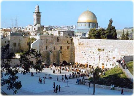 Wailing Wall, in Jerusalem
